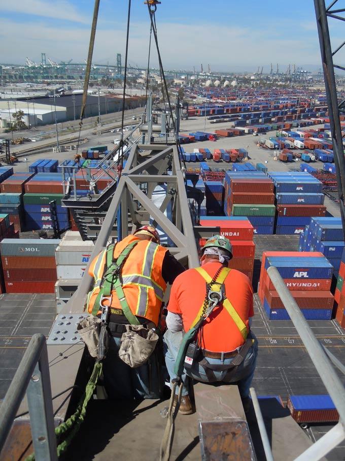 Container Crane Backreach Extension